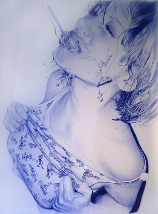 Belos Desenhos Feitos com Caneta Bic - 05
